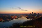 Pittsburgh panoramic sunrise by PJS15204