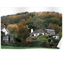 Colour and Cottages Poster