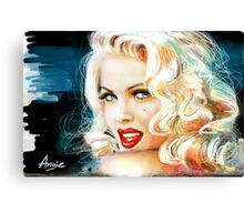 Blue Eyes Blond 3 Canvas Print