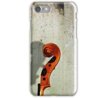Scrolling the Wall  iPhone Case/Skin