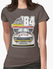 Audi Quattro Sport S1 - 1984 Womens Fitted T-Shirt