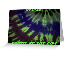 TIE DYED Greeting Card