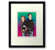 Hex and Bajo Framed Print