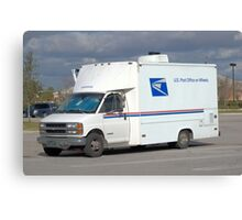 Mobile Post Office Canvas Print
