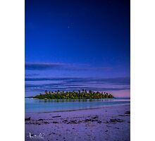 Heavens Above Pulu Maraya Photographic Print