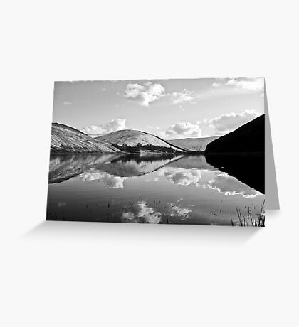 loch of the lowes (b&w) Greeting Card
