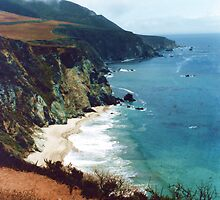 "BIG SUR California....... Route of Dustin Hoffman in ""The Graduate""... by Larry Llewellyn"