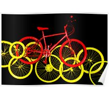 I love to ride my bicycle Poster