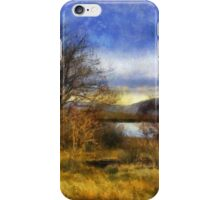 Fall Lake iPhone Case/Skin
