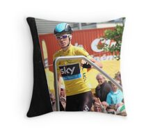 Chris Froome (1), Tour de France 2013  Throw Pillow