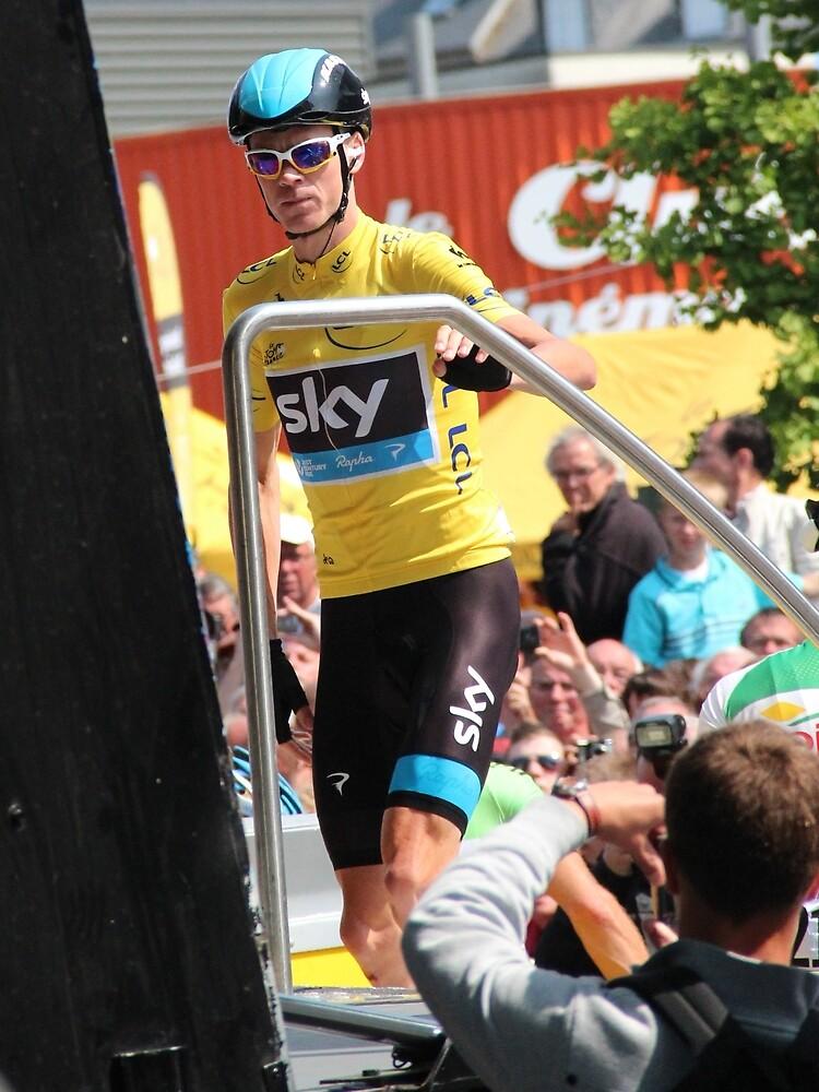 Chris Froome (1), Tour de France 2013  by MelTho
