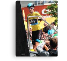 Chris Froome (1), Tour de France 2013  Canvas Print