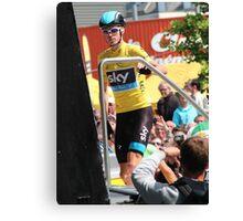 Chris Froome (1), Tour de France 2013  Canvas Print
