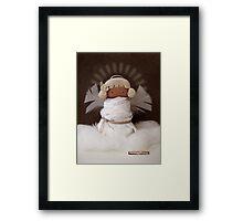 CHUNKIE Angel Framed Print