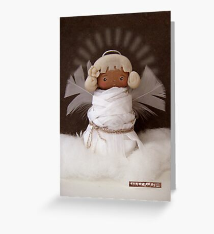 CHUNKIE Angel Greeting Card