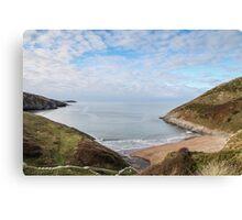 Pretty Beach Landscape Canvas Print