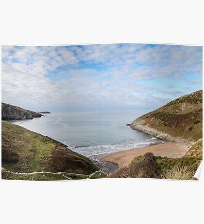 Pretty Beach Landscape Poster