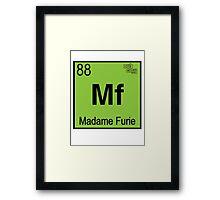 Madame Fury #88 Framed Print