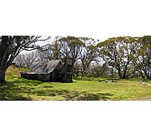 Wallace Hut Photographic Print