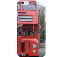Birmingham Bus (From the Good Old Days) iPhone Case/Skin