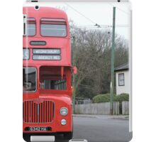Birmingham Bus (From the Good Old Days) iPad Case/Skin