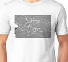 Grace Vegan. Garaffiti seen on the side of an art gallery in Adelaide, South Australia Unisex T-Shirt