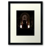 Welcome to St-Johns Framed Print