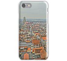 Birdseye view of Bruges iPhone Case/Skin