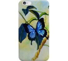 Dancing Butterflies colour pencils and pens iPhone Case/Skin