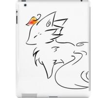 Fox Ink iPad Case/Skin