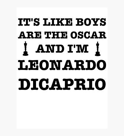 Boys Are The Oscar Photographic Print