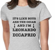 Boys Are The Oscar Womens Fitted T-Shirt