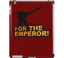 FOR THE EMPEROR! iPad Case/Skin