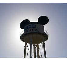 Walt Disney Studios, Paris Photographic Print
