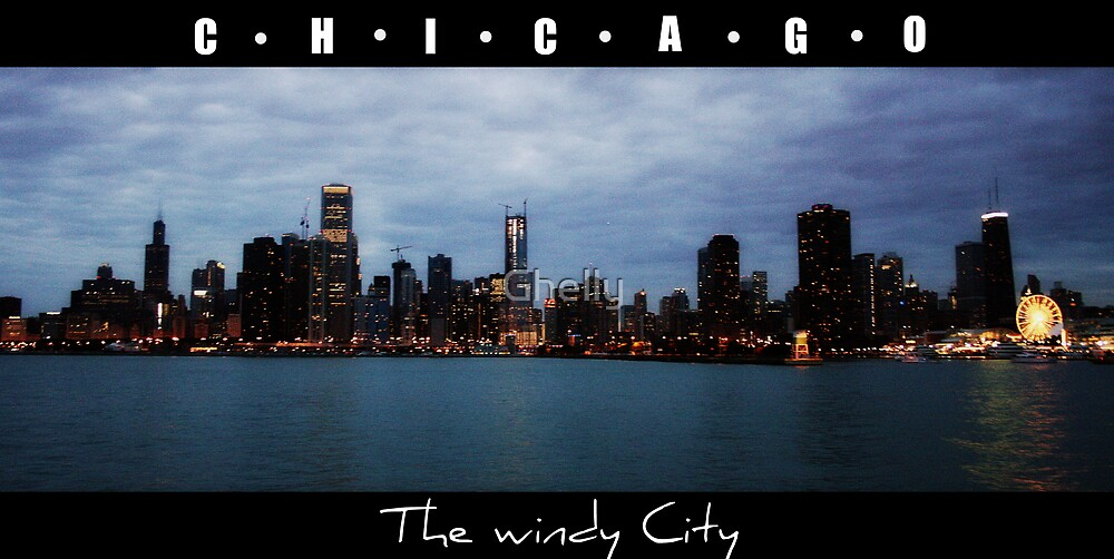 CHICAGO - The windy city in Colour by Ghelly