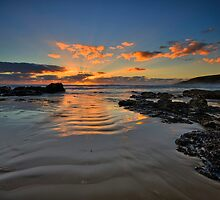 Emerald Beach Sunrise by Mark Snelson