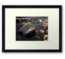 Granite Strong Framed Print