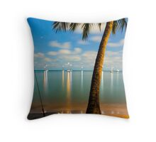 Magnetic Nights Throw Pillow