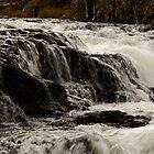 Farehole River Waterfall by Olga Zvereva
