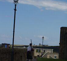 Tourist attraction at St Andrews by Natasha Lovik