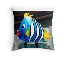 Bright and Bubbly, Burleigh Heads Gold Coast Australia Throw Pillow
