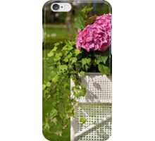 Hydrangea or hortensia blooming iPhone Case/Skin