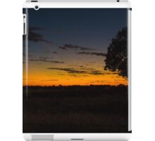 Queensland Bottle Tree at Sunset iPad Case/Skin