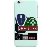 Gaming Collage with colour iPhone Case/Skin