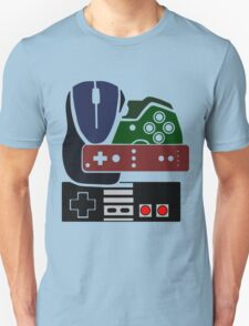 Gaming Collage with colour T-Shirt