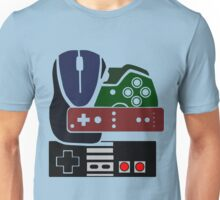 Gaming Collage with colour Unisex T-Shirt