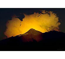 Mt Taranaki Photographic Print