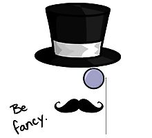 Be Fancy Photographic Print