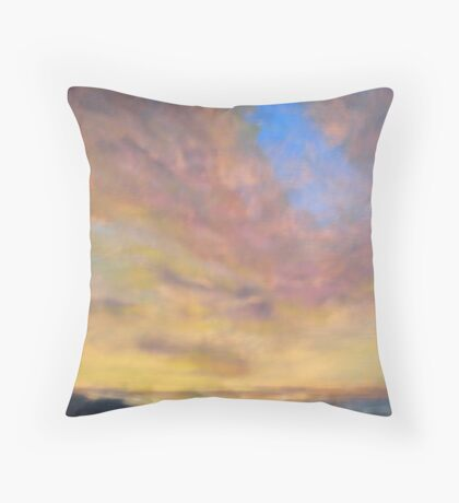 Three - donated to agencies responding to the Black Saturday bushfires Throw Pillow