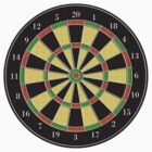 Dartboard ~ Target by Vidka Art